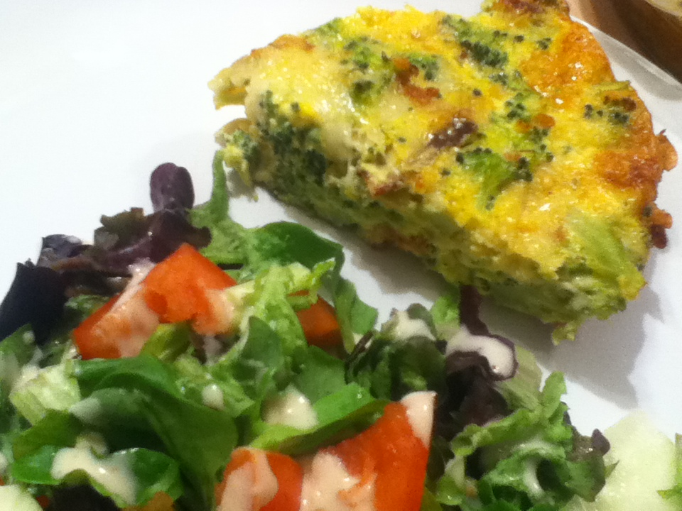 Low Carb Quiche With Broccoli And Swiss Cheese Low Carb 360